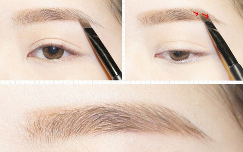 Các bước kẻ lông mày cơ bản dành cho người mới học make-up.