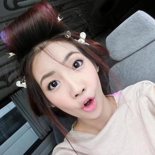 """Các hotgirl Thái Lan luôn nổi tiếng với nhan sắc mặn mà cùng đôi mắt """"biết nói"""", sắc nét tự nhiên."""