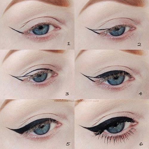 Để kẻ mắt mèo bạn cần tuân theo nhiều bước makeup với độ khó cao.