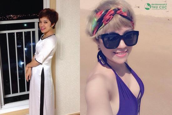 Hồng Hà tự tin diện những trang phục quyến rũ để khoe khuôn ngực gợi cảm của mình (Lưu ý: Kết quả có thể khác nhau tùy thuộc cơ địa mỗi người)