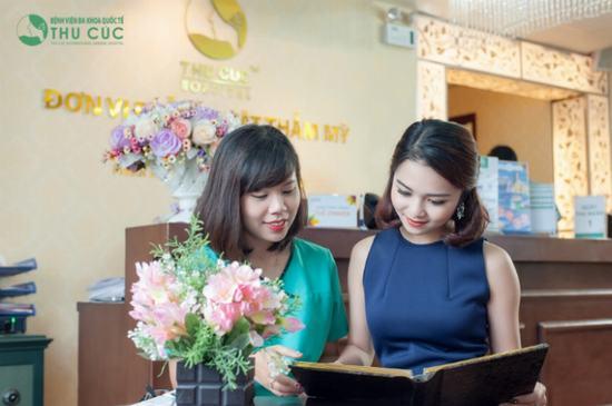 Thu Cúc Sài Gòn là một trong những địa chỉ nâng mũi S line được nhiều chị em ghé thăm. Theo đại diện trung tâm thẩm mỹ, dáng mũi S line mới du nhập trở lại vài năm gần đây, song được nhiều chị em ưa thích vì phù hợp với khuôn mặt nữ tính đậm chất Á Đông của người Việt.