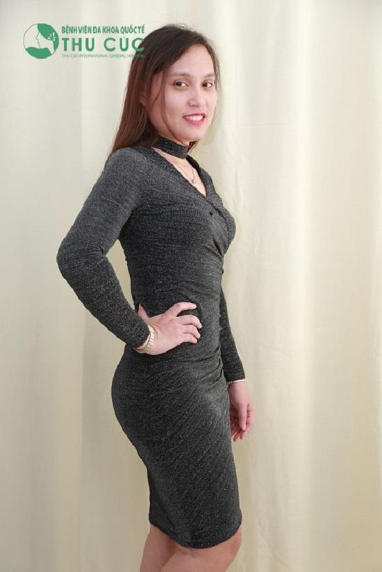 """Tự tin sau khi giảm béo thành công, các cô gái không """"ngại"""" mặc trang phục body"""