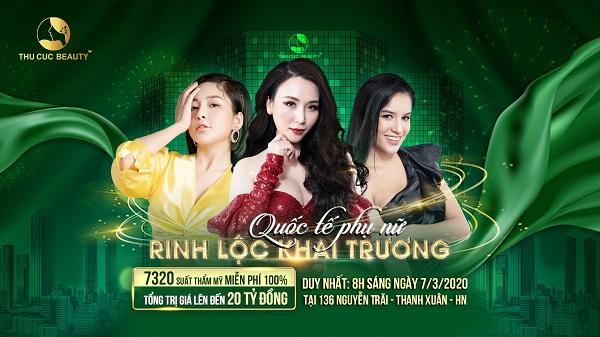 Khai trương Thu Cúc Mega Beauty Center 136 Nguyễn Trãi với rất nhiều ưu đãi hấp dẫn