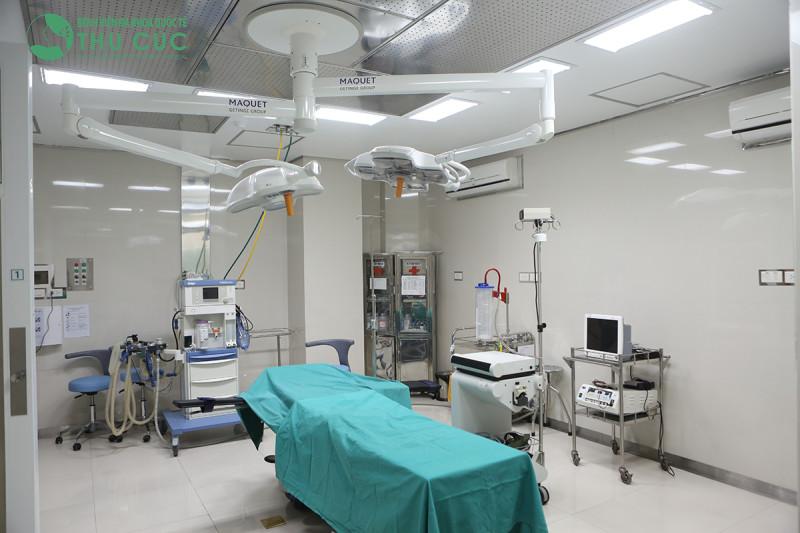 Các phẫu thuật thẩm mỹ tại Thu Cúc Sài Gòn được thực hiện theo đúng chuẩn an toàn của ngành y tế