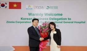 Xúc tiến hợp tác giữa tập đoàn Zinnia và Hàn Quốc