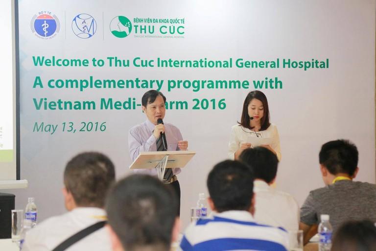 BV Thu Cúc tiếp đón đoàn đại biểu tham dự Triển lãm VIETNAM MEDI-PHARM 2016