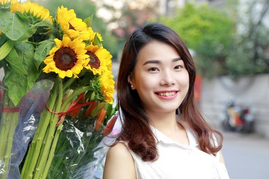 Biến hóa dáng mày với phương pháp phun tán bột Hàn Quốc
