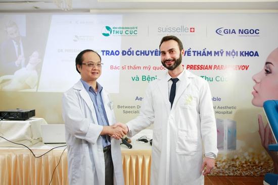 Bệnh viện Thu Cúc tổ chức Hội thảo tiêm Filler cùng chuyên gia quốc tế